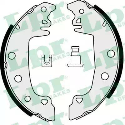 LPR 07520 - Jeu de freins, freins à tambour www.widencarpieces.com