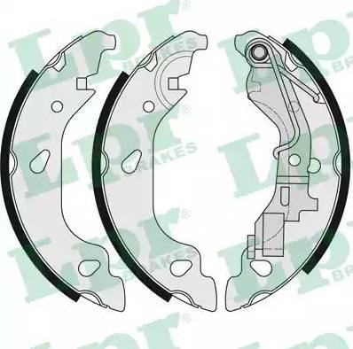 LPR 07690 - Jeu de freins, freins à tambour www.widencarpieces.com