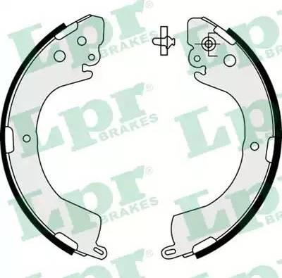 LPR 07620 - Jeu de freins, freins à tambour www.widencarpieces.com