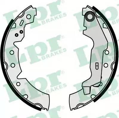 LPR 07670 - Jeu de freins, freins à tambour www.widencarpieces.com
