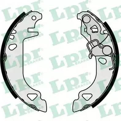 LPR 07070 - Jeu de freins, freins à tambour www.widencarpieces.com