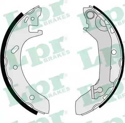 LPR 07140 - Jeu de freins, freins à tambour www.widencarpieces.com