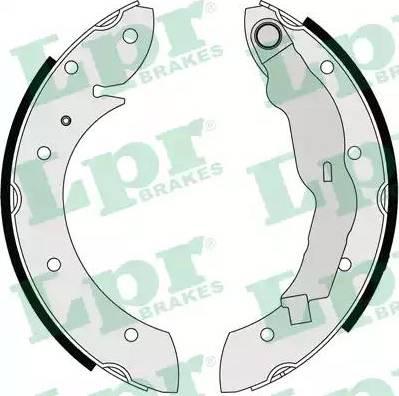LPR 07135 - Jeu de freins, freins à tambour www.widencarpieces.com