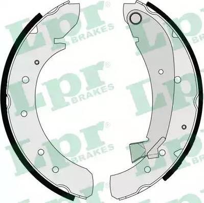 LPR 07120 - Jeu de freins, freins à tambour www.widencarpieces.com