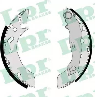 LPR 07175 - Jeu de freins, freins à tambour www.widencarpieces.com