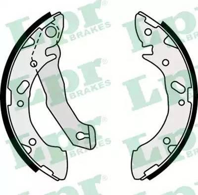 LPR 07870 - Jeu de freins, freins à tambour www.widencarpieces.com