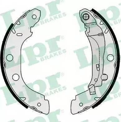 LPR 07340 - Jeu de freins, freins à tambour www.widencarpieces.com