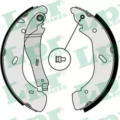 LPR 07790 - Jeu de freins, freins à tambour www.widencarpieces.com