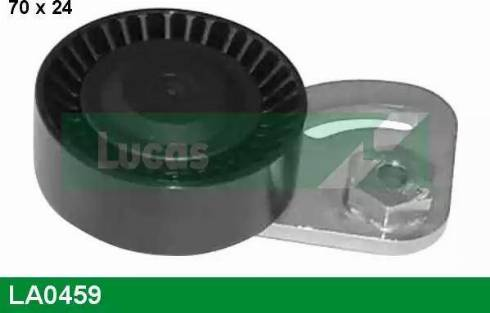 Lucas Engine Drive LA0459 - Poulie-tendeur, courroie trapézoïdale à nervures www.widencarpieces.com