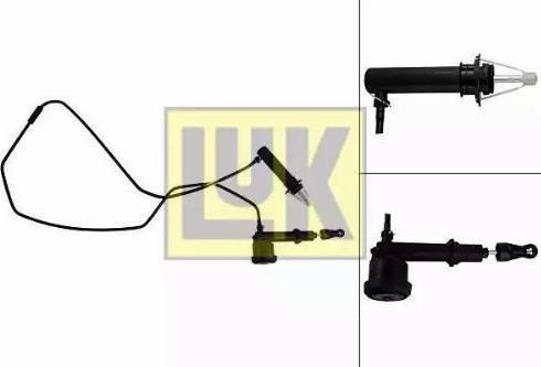 LUK 513006610 - Jeu de cylindres émetteurs et récepteurs, embrayage www.widencarpieces.com