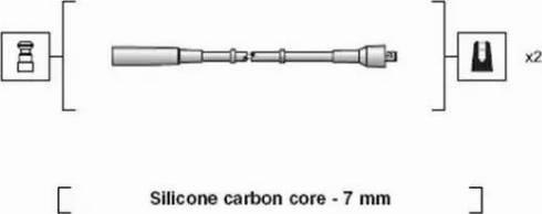 Magneti Marelli 941318111197 - Kit de câbles d'allumage www.widencarpieces.com