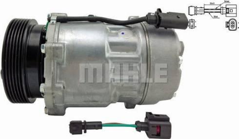 Mahle Original ACP 191 000S - Compresseur, climatisation www.widencarpieces.com