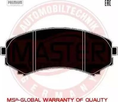Master-Sport 13046058532N-SET-MS - Kit de plaquettes de frein, frein à disque www.widencarpieces.com