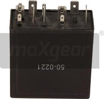 Maxgear 500221 - Relais, intervalle d'essuyage www.widencarpieces.com