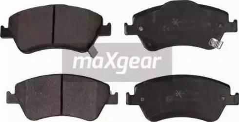 Maxgear 19-0901 - Kit de plaquettes de frein, frein à disque www.widencarpieces.com