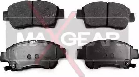 Maxgear 19-0489 - Kit de plaquettes de frein, frein à disque www.widencarpieces.com