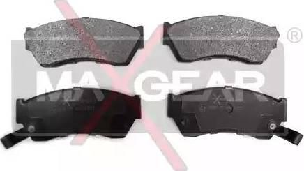 Maxgear 19-0476 - Kit de plaquettes de frein, frein à disque www.widencarpieces.com