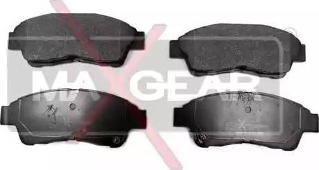 Maxgear 19-0569 - Kit de plaquettes de frein, frein à disque www.widencarpieces.com
