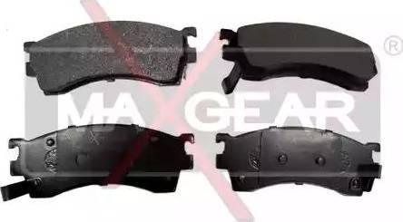 Maxgear 19-0565 - Kit de plaquettes de frein, frein à disque www.widencarpieces.com