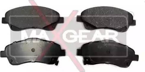 Maxgear 19-0625 - Kit de plaquettes de frein, frein à disque www.widencarpieces.com