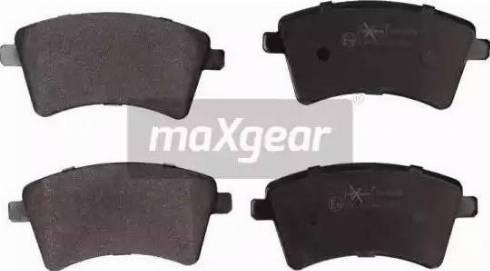 Maxgear 19-0899 - Kit de plaquettes de frein, frein à disque www.widencarpieces.com
