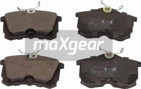 Maxgear 19-0880 - Kit de plaquettes de frein, frein à disque www.widencarpieces.com