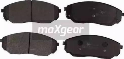 Maxgear 19-0888 - Kit de plaquettes de frein, frein à disque www.widencarpieces.com