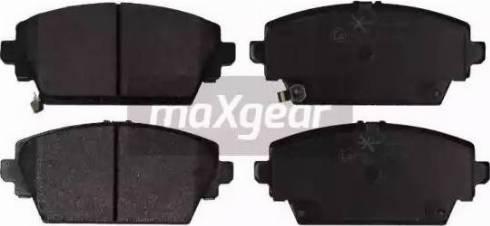 Maxgear 19-0879 - Kit de plaquettes de frein, frein à disque www.widencarpieces.com