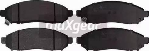 Maxgear 19-1439 - Kit de plaquettes de frein, frein à disque www.widencarpieces.com