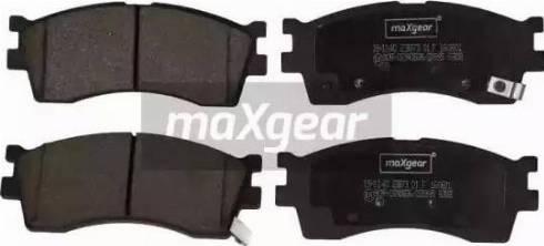 Maxgear 19-1140 - Kit de plaquettes de frein, frein à disque www.widencarpieces.com