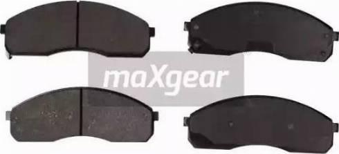 Maxgear 19-1137 - Kit de plaquettes de frein, frein à disque www.widencarpieces.com