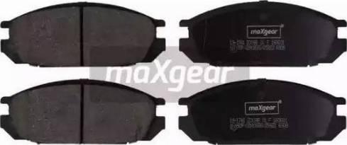 Maxgear 19-1741 - Kit de plaquettes de frein, frein à disque www.widencarpieces.com
