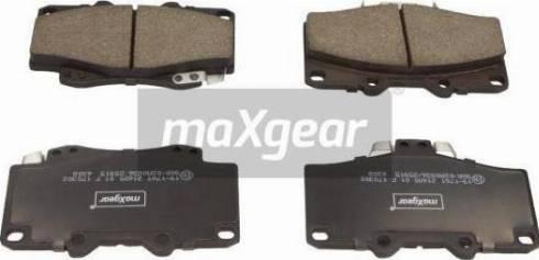 Maxgear 19-1761 - Kit de plaquettes de frein, frein à disque www.widencarpieces.com