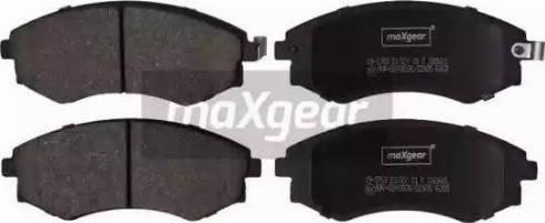 Maxgear 19-1763 - Kit de plaquettes de frein, frein à disque www.widencarpieces.com
