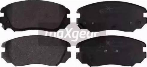 Maxgear 19-2155 - Kit de plaquettes de frein, frein à disque www.widencarpieces.com