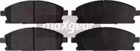 Maxgear 19-2133 - Kit de plaquettes de frein, frein à disque www.widencarpieces.com