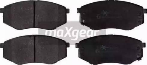 Maxgear 19-2176 - Kit de plaquettes de frein, frein à disque www.widencarpieces.com