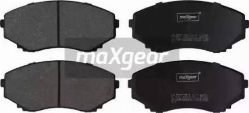 Maxgear 19-2877 - Kit de plaquettes de frein, frein à disque www.widencarpieces.com