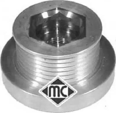 Metalcaucho 04729 - Poulie roue libre, alternateur www.widencarpieces.com