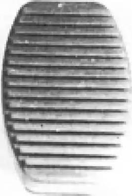Metalcaucho 00413 - Revêtement de pédale, pédale d'embrayage www.widencarpieces.com