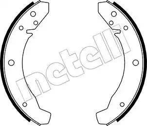 Metelli 53-0459 - Jeu de freins, freins à tambour www.widencarpieces.com