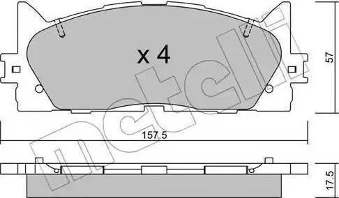 Delphi LP2169 - Kit de plaquettes de frein, frein à disque www.widencarpieces.com
