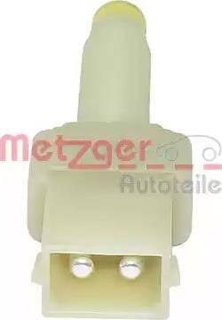 Metzger 0911038 - Interrupteur des feux de freins www.widencarpieces.com