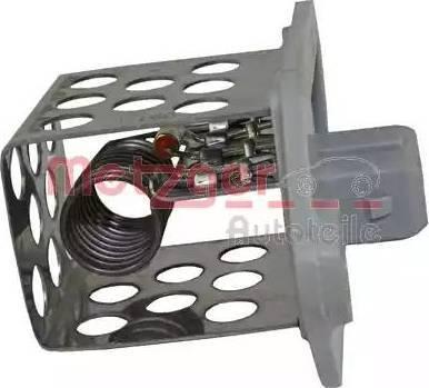Metzger 0917051 - Commande, ventilateur électrique (refroidissement du moteur) www.widencarpieces.com
