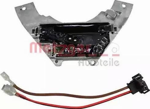Metzger 0917024 - Appareil de commande, chauffage/ventilation www.widencarpieces.com