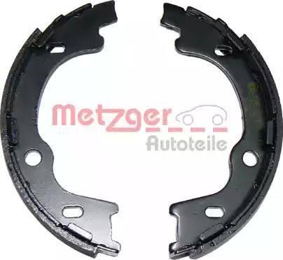 Metzger MG 106 - Jeu de mâchoires de frein, frein de stationnement www.widencarpieces.com
