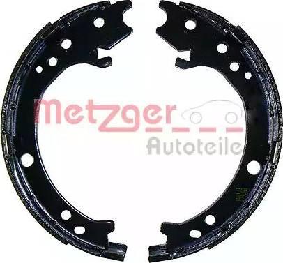 Metzger MG 233 - Jeu de mâchoires de frein, frein de stationnement www.widencarpieces.com