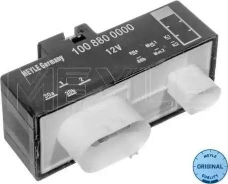 Meyle 1008800000 - Commande, ventilateur électrique (refroidissement du moteur) www.widencarpieces.com