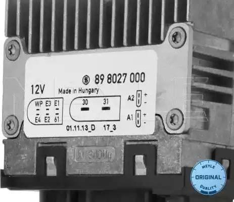 Meyle 1008800025 - Commande, ventilateur électrique (refroidissement du moteur) www.widencarpieces.com
