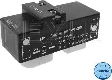 Meyle 1008800022 - Commande, ventilateur électrique (refroidissement du moteur) www.widencarpieces.com